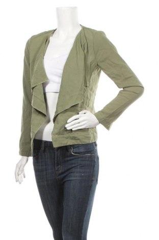 Дамска жилетка, Размер S, Цвят Зелен, Полиестер, памук, еластан, Цена 6,52лв.