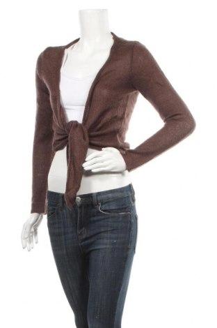 Γυναικεία ζακέτα, Μέγεθος XL, Χρώμα Καφέ, Ακρυλικό, μοχαίρ, Τιμή 7,73€