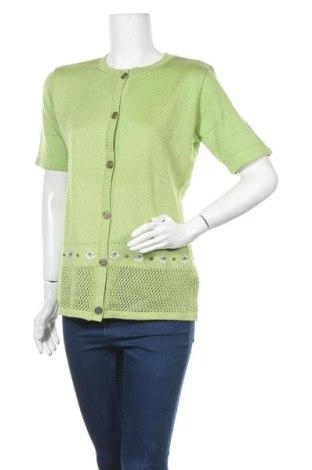 Γυναικεία ζακέτα, Μέγεθος M, Χρώμα Πράσινο, Πολυακρυλικό, Τιμή 4,77€