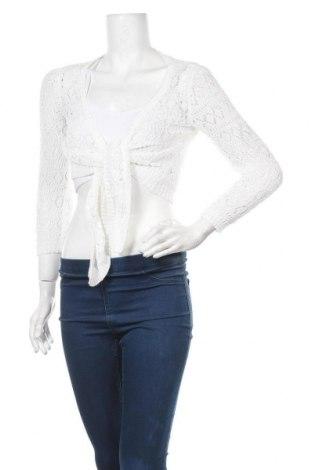 Γυναικεία ζακέτα Caroline K Morgan, Μέγεθος M, Χρώμα Λευκό, Βισκόζη, πολυεστέρας, Τιμή 5,23€