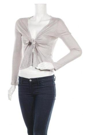 Дамска жилетка Caroll, Размер S, Цвят Сив, 100% лен, Цена 20,68лв.