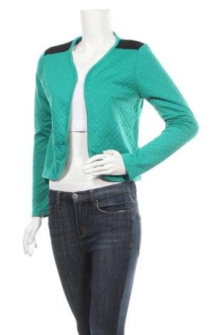Γυναικεία ζακέτα DDP, Μέγεθος S, Χρώμα Πράσινο, Πολυεστέρας, Τιμή 5,68€