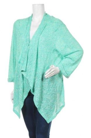 Дамска жилетка Emerson, Размер XL, Цвят Зелен, 60% полиестер, 40% вискоза, Цена 8,82лв.