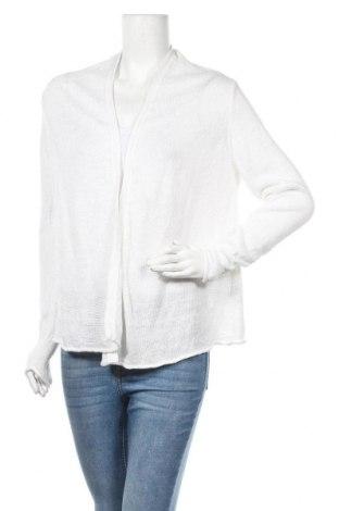 Дамска жилетка Esprit, Размер M, Цвят Бял, Лен, Цена 6,83лв.