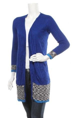 Дамска жилетка INC International Concepts, Размер XS, Цвят Син, Вискоза, Цена 4,75лв.