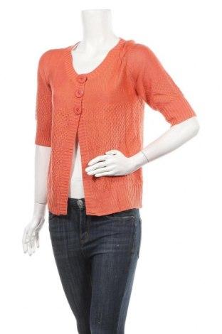 Дамска жилетка Katies, Размер M, Цвят Оранжев, Акрил, Цена 5,80лв.