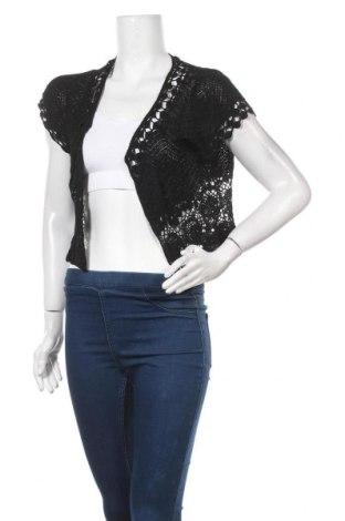 Γυναικεία ζακέτα Katies, Μέγεθος L, Χρώμα Μαύρο, Τιμή 14,94€