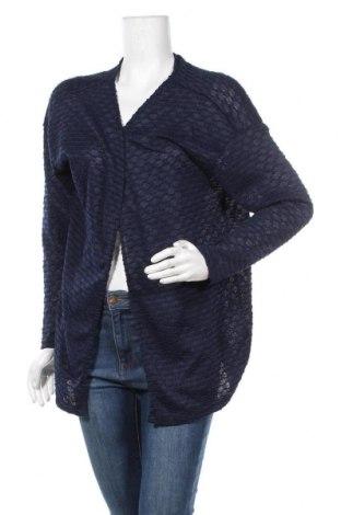Γυναικεία ζακέτα Laura Torelli, Μέγεθος L, Χρώμα Μπλέ, 100% πολυεστέρας, Τιμή 4,32€