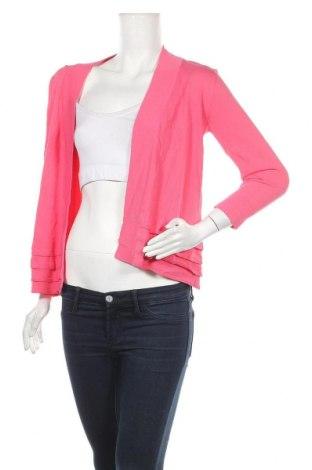 Γυναικεία ζακέτα Maggie T, Μέγεθος S, Χρώμα Ρόζ , 70% βισκόζη, 30% πολυαμίδη, Τιμή 27,15€