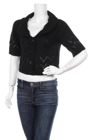 Γυναικεία ζακέτα Orsay, Μέγεθος L, Χρώμα Μαύρο, 64% πολυακρυλικό, 12% μοχαίρ, 12% πολυαμίδη, 12% μαλλί, Τιμή 7,05€