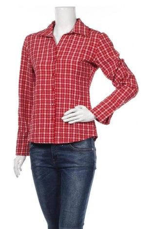 Дамска риза, Размер M, Цвят Червен, 95% полиестер, 5% еластан, Цена 9,82лв.