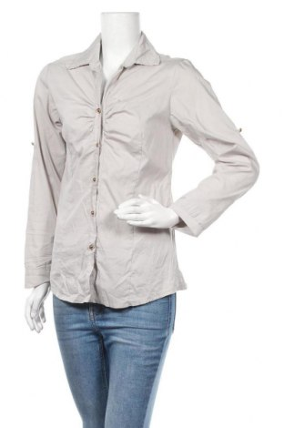 Дамска риза, Размер S, Цвят Бежов, Памук, Цена 4,20лв.