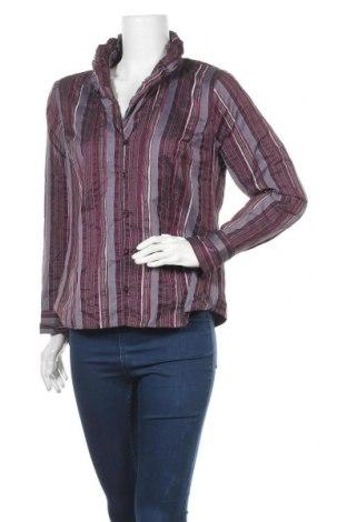 Дамска риза, Размер L, Цвят Лилав, 86% полиестер, 14% акрил, Цена 5,88лв.