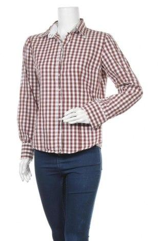 Дамска риза, Размер M, Цвят Кафяв, Памук, Цена 7,98лв.