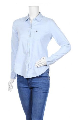 Γυναικείο πουκάμισο Abercrombie & Fitch, Μέγεθος XS, Χρώμα Μπλέ, 97% βαμβάκι, 3% ελαστάνη, Τιμή 12,99€