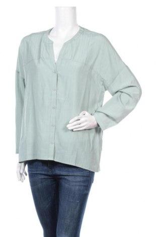 Γυναικείο πουκάμισο About You, Μέγεθος M, Χρώμα Πράσινο, 70% βισκόζη, 30% πολυεστέρας, Τιμή 6,32€