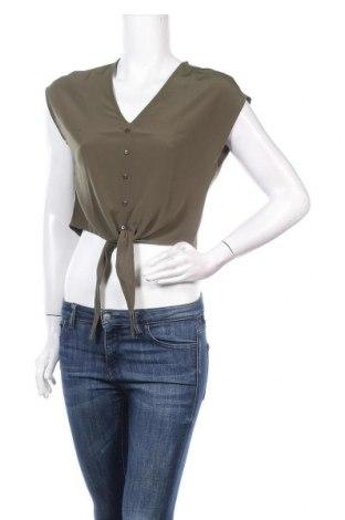 Дамска риза About You, Размер XS, Цвят Зелен, Полиестер, Цена 29,64лв.