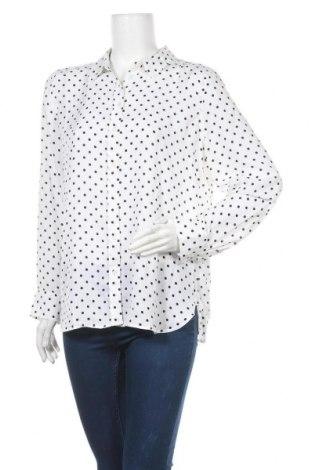 Дамска риза Banana Republic, Размер L, Цвят Бял, Полиестер, Цена 38,15лв.