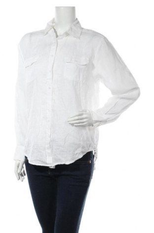 Дамска риза Colorado, Размер S, Цвят Бял, Лен, Цена 16,07лв.