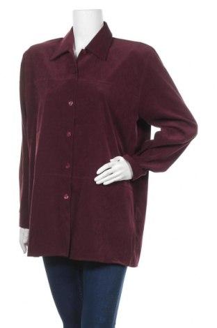 Дамска риза Colours Of The World, Размер L, Цвят Лилав, 97% полиестер, 3% еластан, Цена 11,97лв.