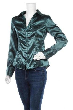 Дамска риза Colours Of The World, Размер M, Цвят Зелен, Полиестер, Цена 13,28лв.