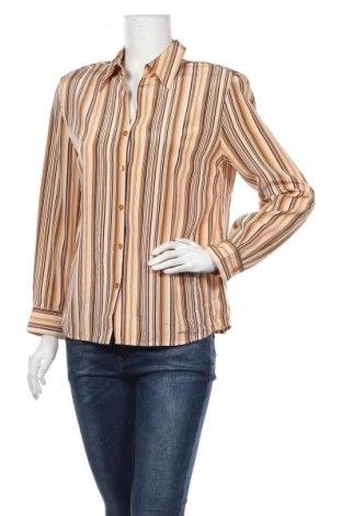 Дамска риза Delmod, Размер L, Цвят Многоцветен, Полиестер, Цена 7,09лв.