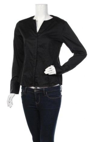 Дамска риза Eterna, Размер M, Цвят Черен, 97% памук, 3% еластан, Цена 10,40лв.