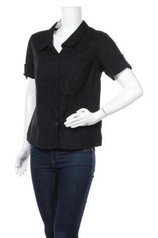 Дамска риза Flash Lights, Размер L, Цвят Черен, Памук, Цена 12,60лв.