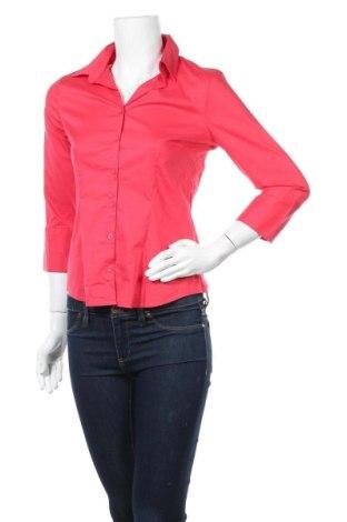 Дамска риза H&M, Размер M, Цвят Розов, 73% памук, 23% полиамид, 4% еластан, Цена 10,71лв.