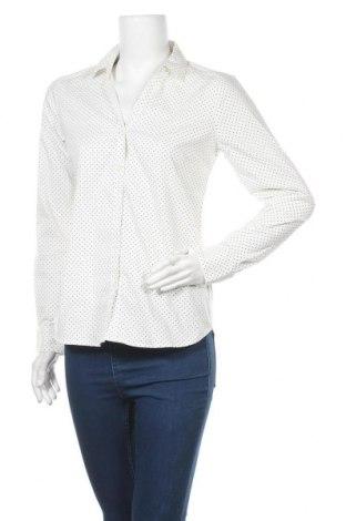 Дамска риза H&M, Размер M, Цвят Бял, 73% памук, 23% полиестер, 4% еластан, Цена 18,90лв.