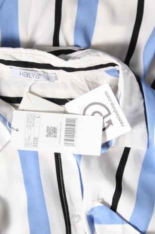 Дамска риза Hailys, Размер L, Цвят Многоцветен, Вискоза, Цена 25,37лв.