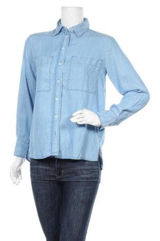 Дамска риза Mango, Размер XS, Цвят Син, Лиосел, Цена 21,60лв.
