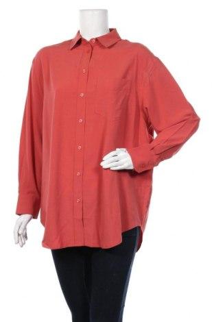 Дамска риза Mango, Размер S, Цвят Розов, 70% вискоза, 30% тенсел, Цена 16,80лв.