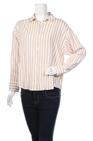 Дамска риза Mango, Размер M, Цвят Розов, Вискоза, Цена 20,80лв.