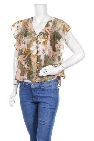 Дамска риза Mango, Размер XL, Цвят Многоцветен, 100% полиестер, Цена 39,20лв.