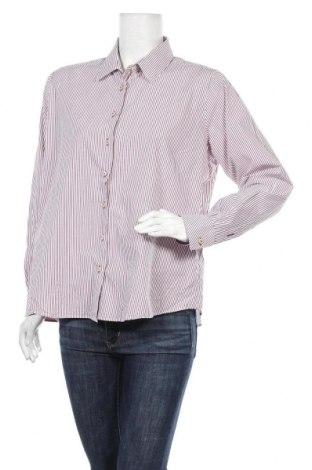 Γυναικείο πουκάμισο Milano Italy, Μέγεθος XL, Χρώμα Κόκκινο, Βαμβάκι, Τιμή 7,01€