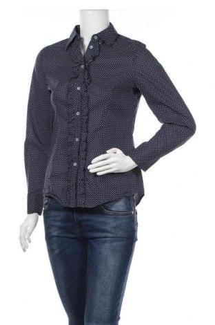 Дамска риза Peter Hahn, Размер S, Цвят Син, Памук, Цена 22,68лв.