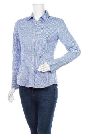 Дамска риза Seidensticker, Размер M, Цвят Син, Памук, Цена 14,28лв.