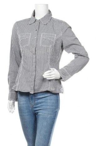Дамска риза Street One, Размер M, Цвят Черен, 97% памук, 3% еластан, Цена 7,56лв.