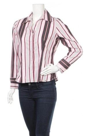 Дамска риза Street One, Размер L, Цвят Многоцветен, 65% памук, 32% полиамид, 3% еластан, Цена 8,51лв.