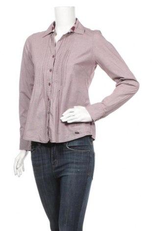 Дамска риза Tom Tailor, Размер S, Цвят Черен, 97% памук, 3% еластан, Цена 19,11лв.