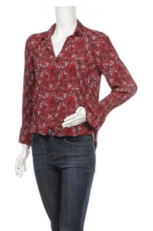 Дамска риза Vero Moda, Размер M, Цвят Червен, 100% вискоза, Цена 10,92лв.