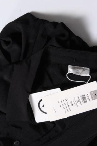 Дамска риза Vila, Размер L, Цвят Черен, 77% вискоза, 23% полиестер, Цена 23,60лв.