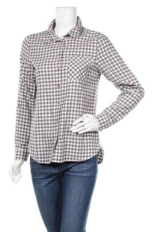 Дамска риза Yessica, Размер S, Цвят Сив, Памук, Цена 13,23лв.