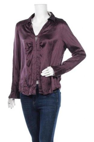 Дамска риза Your Sixth Sense, Размер XL, Цвят Лилав, 97% коприна, 3% еластан, Цена 37,91лв.
