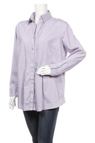 Дамска риза Your Sixth Sense, Размер XXL, Цвят Лилав, 46% памук, 30% полиестер, 21% полиамид, 3% еластан, Цена 16,07лв.