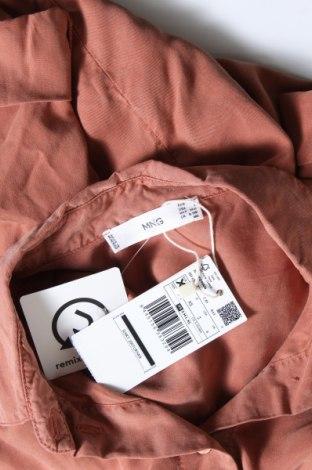 Дамска риза Mango, Размер XS, Цвят Розов, Лиосел, Цена 19,47лв.