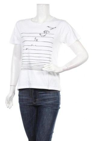 Дамска тениска, Размер M, Цвят Бял, Памук, Цена 22,95лв.