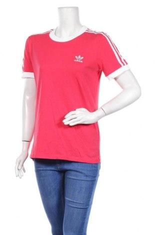 Дамска тениска Adidas Originals, Размер L, Цвят Розов, Памук, Цена 43,40лв.