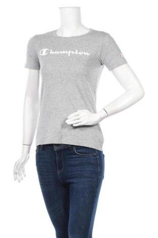 Γυναικείο t-shirt Champion, Μέγεθος XS, Χρώμα Γκρί, Τιμή 11,21€
